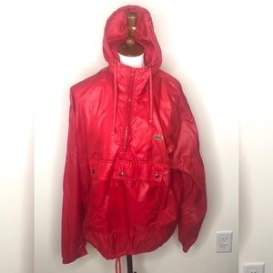 Vintage Lacoste Rain Jacket Mens Sz Large.